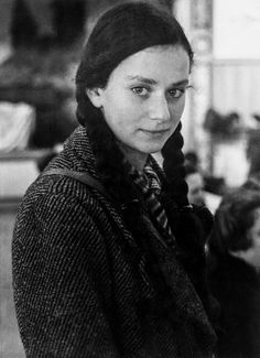 A German Jewish girl, newly arrived at the Dovercourt holiday camp (December 1938).