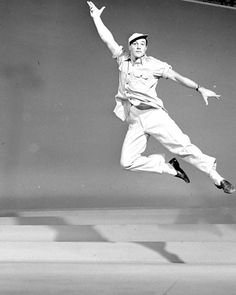 Gene Kelly --One of the most versatile, athletic, and graceful dancers I have ever seen. He has hips like a gyroscope! Check him out in one of his old movies.
