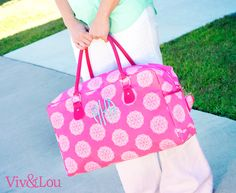 Viv  Lou Pink Maddie Collection with FREE Monogramming! #WeLoveMaddie #VivandLou #Pink #Monogram