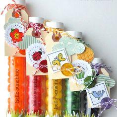 Rainbow Jellybean Favors