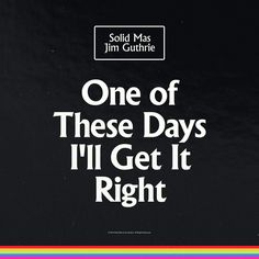Jim Guthrie - One of These Days I'll Get It Right / Not sure why i skipped this when it came out but it's MUCH different from his regular music. It's just a bunch of remixes of some of his tracks with added in instruments and clips of people talking. It's one of the catchiest music he's put out and has a lot more energy than his normal stuff too. Favorite Track: And We Died Younger