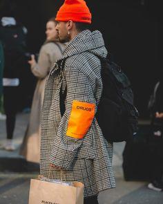 Londen fashion week streetstyle shots by for Casual Street Style, Style Casual, Men Casual, Style Men, Men's Style, Smart Casual, Men Street, Street Wear, Urban Fashion