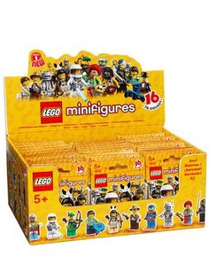 LEGO Minifigure Collection Series 1 Mystery Bag Box 60 Packs by LEGO. $429.99. Series 1 Collectible LEGO Minifigures.. This is a box of 60 Series 1 LEGO minifigures still in sealed packages.