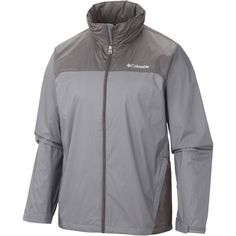 Columbia Sportswear Men's Glennaker Lake Rain Jacket (Beige/Black, Size Medium) - Men's Outerwear, Men's Rainwear at Academy Sports