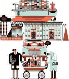 Raymond Biesinger illustratore 11 506x585 pic on Design You Trust