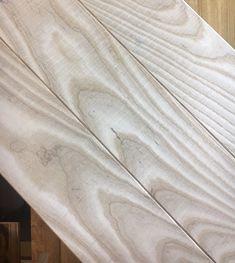 Band Sawn Natural Ash Herringbone Parquet wall cladding Engineered Parquet Flooring, Ash Flooring, Natural Flooring, Unique Flooring, Engineered Hardwood, Underfloor Heating Systems, Installing Hardwood Floors, White Stain, Wall Cladding