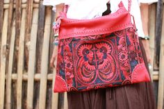 Just beautiful, red leather cross body bag with embroidered fabric. #ethniclanna https://www.etsy.com/listing/193165278/red-leather-cross-body-bag-hand?ref=shop_home_active_5&ga_search_query=red%2Bcross%2Bbody%2Bbag