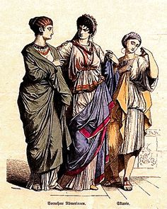 History And Other Thoughts: Clothing In Ancient Rome