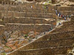 Ollantaytambo, Peru another Incan ruins, considered more important than Machu Pichu....
