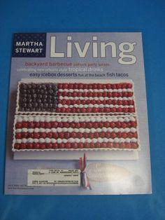 Magazine Martha Stewart Living July 2002