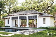 Pool Cabana: Luxe Magazine - The Luxury Home Redefined