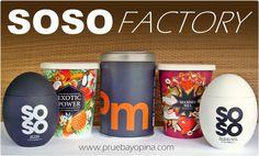 SOSO FACTORY: Sales Gourmet para todos los gustos