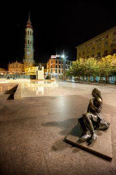 Square – Plaza de Nuestra Señora del Pilar, Zaragoza (Aragon)