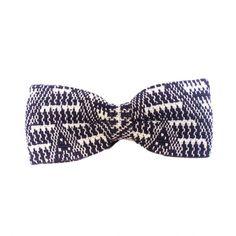 Men's Navy Bow Tie - Joulupukin