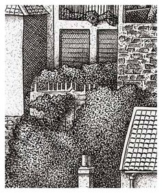 combining cross hatching and stippling whitby detail 2 bottom right. Black Bedroom Furniture Sets. Home Design Ideas