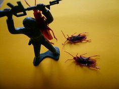 #soldadodeplasticoverde Kill'em all!