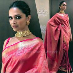 Do you want to find out about quality Elegant Designer Indian Saree including things like Latest Elegant Designer Saree also Bollywood sari then you'll like this CLICK Visit above for more options Deepika Padukone Saree, Deepika In Saree, Sabyasachi, Indian Wedding Outfits, Indian Outfits, Indian Clothes, Wedding Dress, Selena Gomez, Indische Sarees