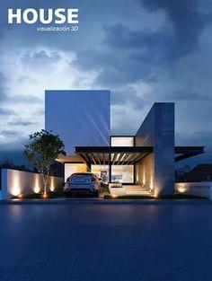 R House Facade Architecture, Residential Architecture, Contemporary Architecture, Arch House, Facade House, Facade Design, Exterior Design, Modern House Facades, Modern Villa Design