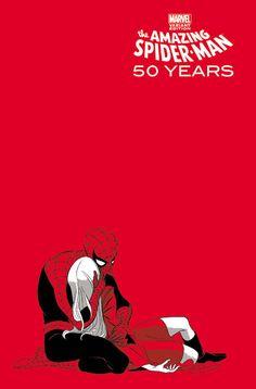 Homem-Aranha ganha capas especiais em comemoração aos seus 50 anos!