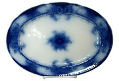 Flow Blue Dish Meakin on OneKingsLane.com