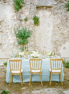 #chair  Photography: KT Merry - ktmerry.com  Read More: http://www.stylemepretty.com/2014/06/05/destination-wedding-inspiration-on-the-amalfi-coast/