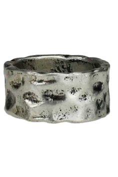 Romwe Retro Silver Ring