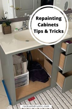 You painted your cabinets and you aren't loving the paint job. Does this sound like you? Don't worry because you can repaint cabinets with a few simple steps. Read on to learn how to redo painted cabinets! Repainting Cabinets, Fitness And Beauty Tips, Diy Pins, Simple Rules, Fashion Painting, Home Improvement Projects, Diy Painting, Don't Worry, Diy Projects