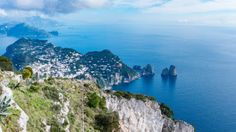 Campanica | Monitoring Italy's Campania region around Naples: CHAIRLIFT RIDE We drive uphill to Anacapri and cat...