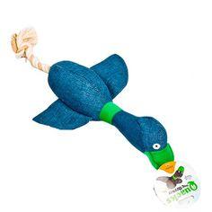 Quacks com Corda Escuro Duki - MeuAmigoPet.com.br #petshop #cachorro #cão #meuamigopet