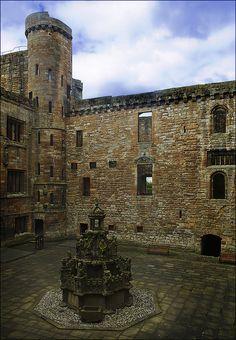 Linlithgow Palace, West Lothian, Scotland