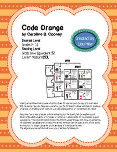 Three skeleton key prereading activity pinterest activities and code orange novel unit with differentiatedinteractive notes aligned to ccss ccuart Images