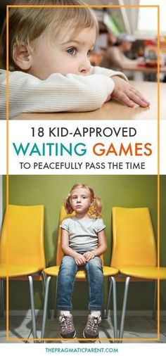 18 wonderfully fun and kid-approved waiting games you can pull out on the go to help pass the time when you're waiting with your kids. Waiting with kids can be hard, and sometimes painful, but these games make waiting with kids enjoyable and time passes m