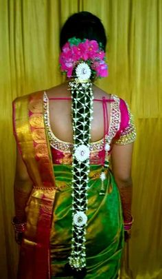 Pelli poola jada Indian Flowers, Ooty, Jada, Captain Hat, Braids, Saree, Blouse, Hair Styles, Womens Fashion