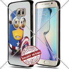 Samsung Galaxy S6 Edge Captain America Minion Cute Cell Phone Case Shock-Absorbing TPU Cases Durable Bumper Cover Frame Black Lucky_case26 http://www.amazon.com/dp/B018KOQ718/ref=cm_sw_r_pi_dp_Os8vwb1P8C3GD