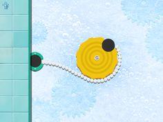 Puzzel met tandwielen - Crazy Gears app voor kleuters.