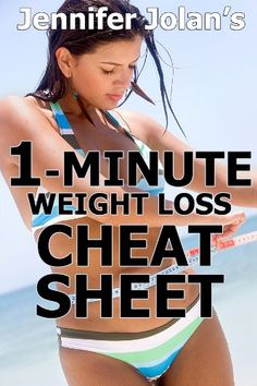The 1-Minute Weight Loss Cheat Sheet - Quick Shortcuts & Tactics for Busy Women $2.99
