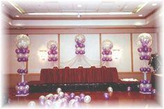 quinceanera hall decorations | ... Quinceanera balloons, balloon decorating, balloon arches, Quinceanera