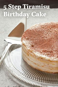 Learn how to make an impressive mille-crepe tiramisu cake, perfect for birthdays, dinner parties and other grand occasions.