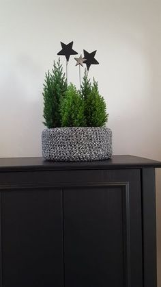 My little winter forest! It even snowed a bit! The post winter forest appeared first on Woman Casual - DIY and crafts Noel Christmas, Winter Christmas, Christmas Crafts, Christmas Decorations, Xmas, Rustic Christmas, Scandinavian Christmas, Scandinavian Interior, Holiday Decorating