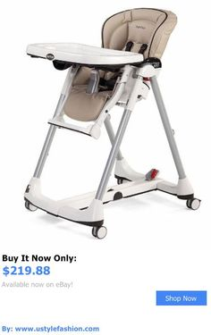 Baby High Chairs: Peg Perego Prima Pappa Best High Chair In Cappuccino BUY IT NOW ONLY: $219.88 #ustylefashionBabyHighChairs OR #ustylefashion