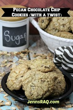 Pecan Chocolate Chip Cookies With a Twist by JennsRAQ.com