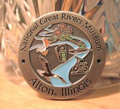National Great Rivers Museum - Alton, IL  (New Geocoin; photo by me)