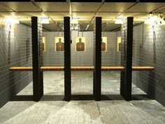 Gun range--nice indoor gun range