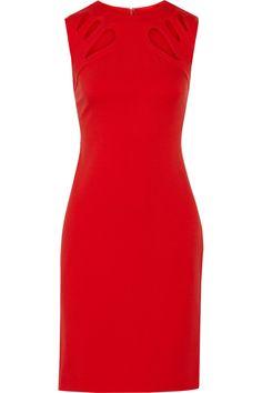 DIANE VON FURSTENBERG Sidra Cutout Stretch-Ponte Dress. #dianevonfurstenberg #cloth #dress