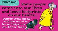 Lol. Aunty Acid is indeed funny!
