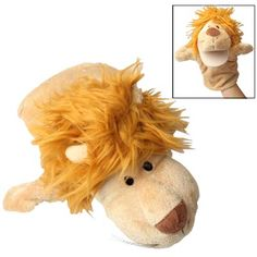 Lion Hand Puppet Doll