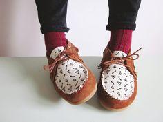 Petit Pot: DIY tutorial: customize your moccasins!