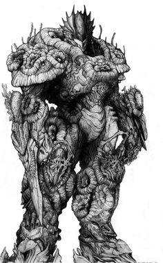 Lemurian+Coral+Bio-Armor+by+ChuckWalton.deviantart.com+on+@DeviantArt