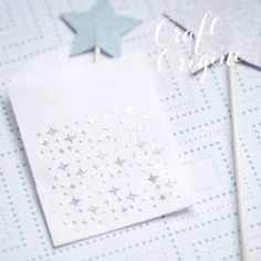 Sparkle - Tampon Craft Origine #craftorigine #diy #tampon #scrapbooking #sparkle