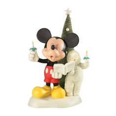 Department 56 Snowbabies Guest Collection A Mickey Melody >>> Amazing deals just a click away : Collectible Figurines for Christmas